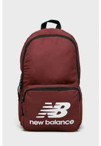 New Balance - Plecak. Kolor: czerwony
