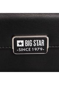 Big-Star - Torebka BIG STAR - GG674007 Czarny. Kolor: czarny. Materiał: skórzane