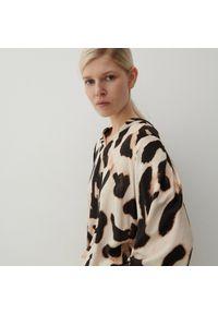 Reserved - Bluzka ze zwierzęcym motywem - Wielobarwny. Wzór: motyw zwierzęcy