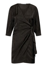 Samsoe & Samsoe - Samsøe Samsøe Sukienka codzienna Celestina F21200114 Czarny Regular Fit. Okazja: na co dzień. Kolor: czarny. Typ sukienki: proste. Styl: casual