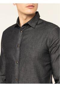 Emporio Armani Koszula 6G1C67 1D5WZ 0005 Szary Slim Fit. Kolor: szary