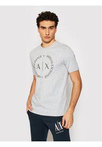 Armani Exchange T-Shirt 8NZTCD Z8H4Z 3929 Szary Regular Fit. Kolor: szary