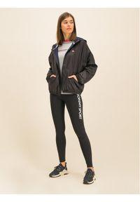 Czarna kurtka przejściowa Tommy Sport sportowa