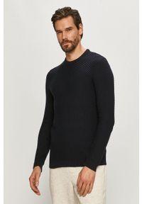 Only & Sons - Sweter. Okazja: na co dzień. Kolor: niebieski. Długość rękawa: długi rękaw. Długość: długie. Styl: casual