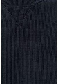 Scotch & Soda - Sweter. Okazja: na co dzień. Kolor: niebieski. Materiał: materiał. Styl: casual