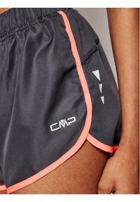 CMP Szorty sportowe 3C89676T Szary Regular Fit. Kolor: szary