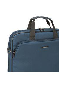 Niebieska torba na laptopa Wittchen
