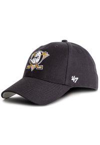 47 Brand - Czapka z daszkiem 47 BRAND - Nhl Anaheim Ducks MVP25WBV Black. Kolor: czarny. Materiał: materiał, wełna, akryl