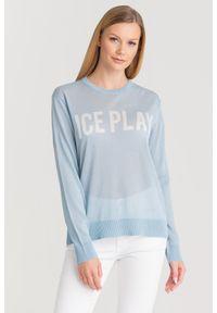 Sweter Ice Play z długim rękawem, na spacer, krótki
