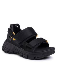 CATerpillar Sandały Progressor P724542 Czarny. Kolor: czarny