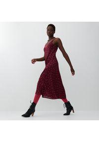 Reserved - Bieliźniana sukienka - Wielobarwny