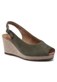 Zielone sandały Gabor