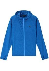 Vistula Bluza Morty XA1199 Niebieski Regular Fit. Kolor: niebieski