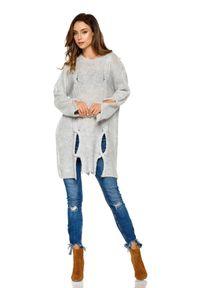 Szary sweter Lemoniade długi