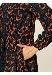Sukienka koszulowa Calvin Klein w kolorowe wzory