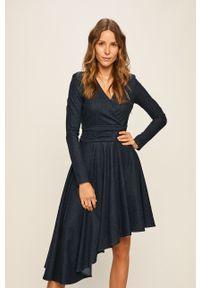 Niebieska sukienka Miss Sixty na co dzień, mini