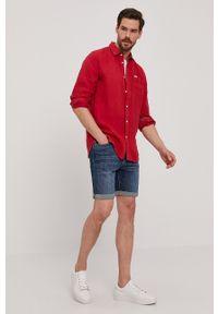 Selected - Szorty jeansowe. Okazja: na co dzień. Kolor: niebieski. Materiał: jeans. Wzór: gładki. Styl: casual