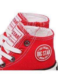 Czerwone półbuty Big-Star