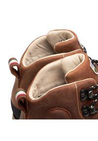 Brązowe buty trekkingowe Dolomite Gore-Tex
