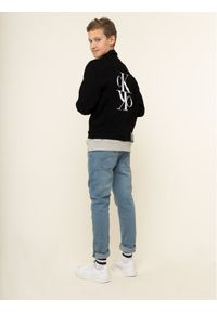 Czarna kurtka przejściowa Calvin Klein Jeans