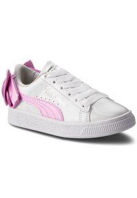 Puma Sneakersy Basket Bow Patent Ac Ps 367622 02 Biały. Kolor: biały