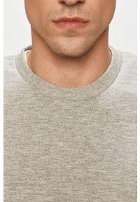 Szara bluza nierozpinana Jack & Jones casualowa, bez kaptura, na co dzień