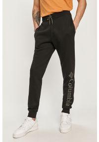 Czarne spodnie dresowe columbia gładkie