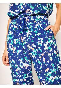 Niebieskie spodnie materiałowe DKNY