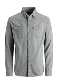 Szara koszula casual Jack & Jones