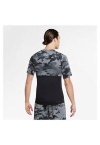 Koszulka treningowa męska Nike Pro CU4093. Materiał: poliester, skóra, materiał. Technologia: Dri-Fit (Nike). Wzór: gładki. Sport: fitness