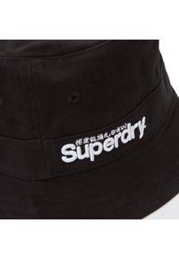 Czarny kapelusz Superdry