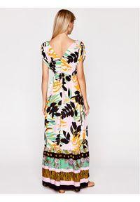 Maaji Sukienka letnia 1744CLD001 Kolorowy Regular Fit. Wzór: kolorowy. Sezon: lato