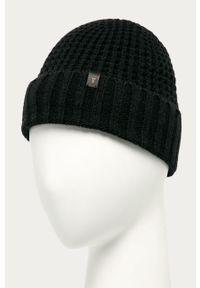 Czarna czapka AllSaints
