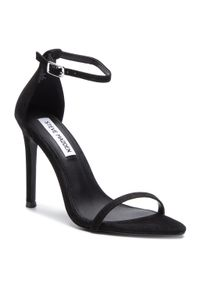 Czarne sandały Steve Madden eleganckie