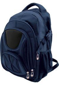 Niebieski plecak na laptopa KEMER