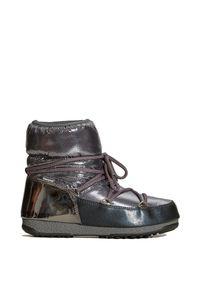 Buty zimowe Moon Boot na zimę, z cholewką, glamour