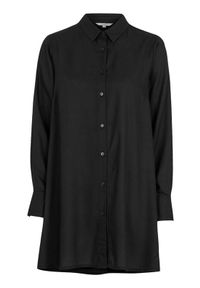 Cellbes Rozszerzana koszula Czarny female czarny 50/52. Kolor: czarny. Materiał: tkanina. Długość: długie. Styl: elegancki