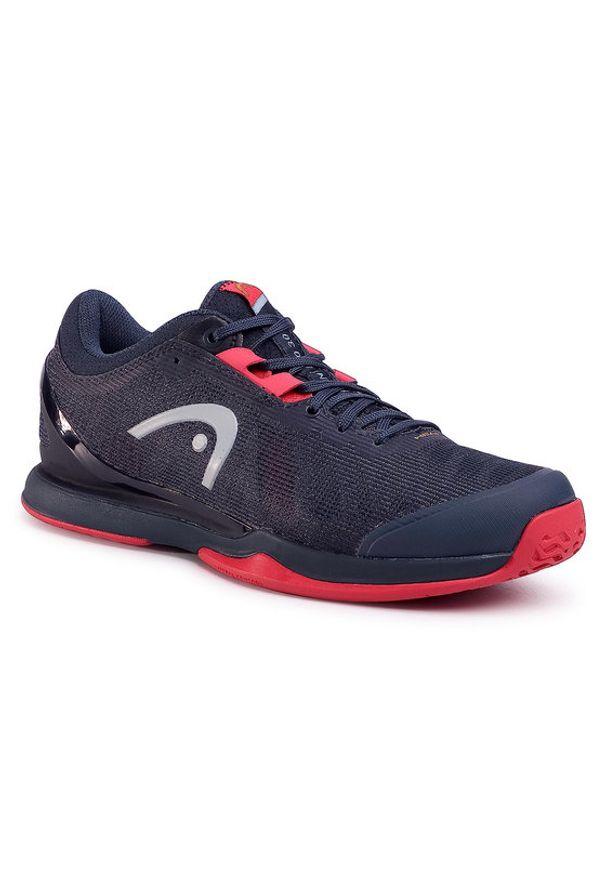 Niebieskie buty sportowe Head do biegania