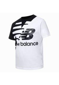 T-shirt New Balance krótki, casualowy, na co dzień, z krótkim rękawem