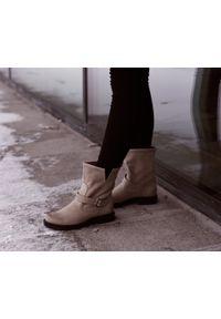 Botki Zapato bez zapięcia, wąskie