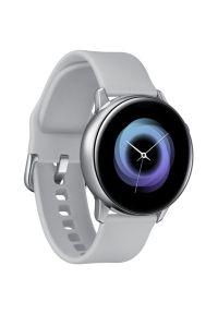 Srebrny zegarek SAMSUNG smartwatch, sportowy