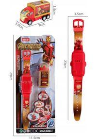 Pan i Pani Gadżet Zegarek Dziecięcy z Projektorem Avengers #1