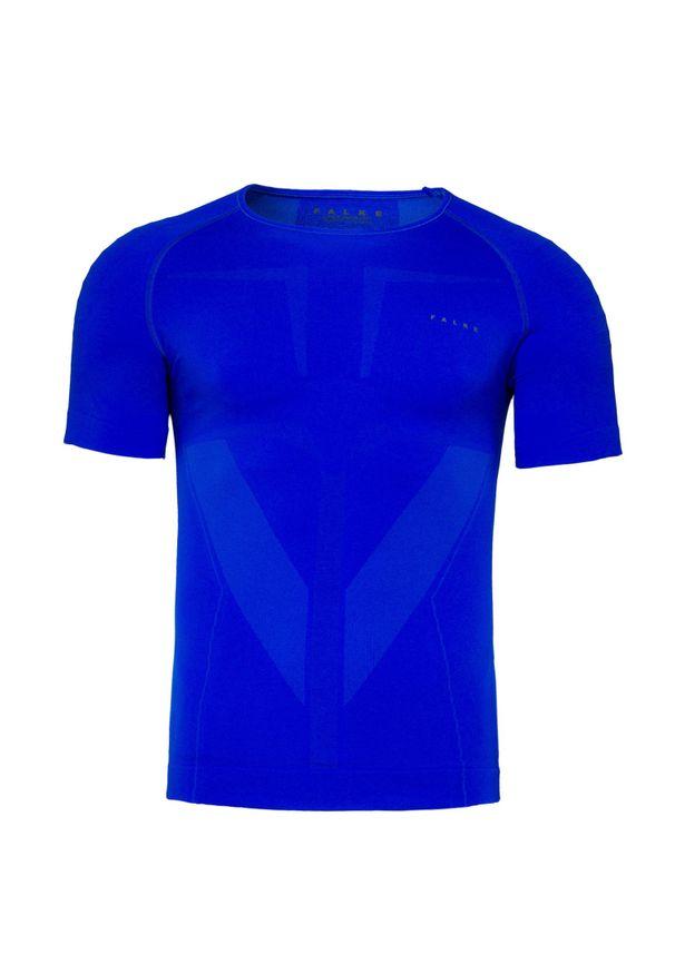 Niebieska koszulka termoaktywna Falke na zimę