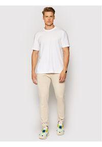 Only & Sons Spodnie materiałowe Mark 22010209 Beżowy Tapered Fit. Kolor: beżowy. Materiał: materiał