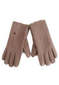 EMU Australia Rękawiczki Damskie Beech Forest Gloves Brązowy. Kolor: brązowy