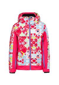 Różowa kurtka narciarska Descente