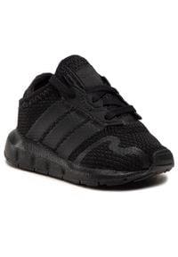 Adidas - Buty adidas - Swift Run X I FY2187 Cblack/Cblack/Cblack. Okazja: na uczelnię, na spacer. Kolor: czarny. Materiał: materiał. Szerokość cholewki: normalna