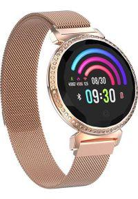 Złoty zegarek GepardWatches smartwatch