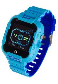 GARETT - Smartwatch Garett Kids 4G Niebieski. Rodzaj zegarka: smartwatch. Kolor: niebieski. Styl: wakacyjny, klasyczny