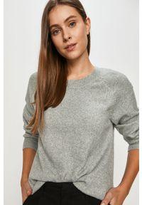Zielony sweter Jacqueline de Yong na co dzień, z długim rękawem, casualowy, długi